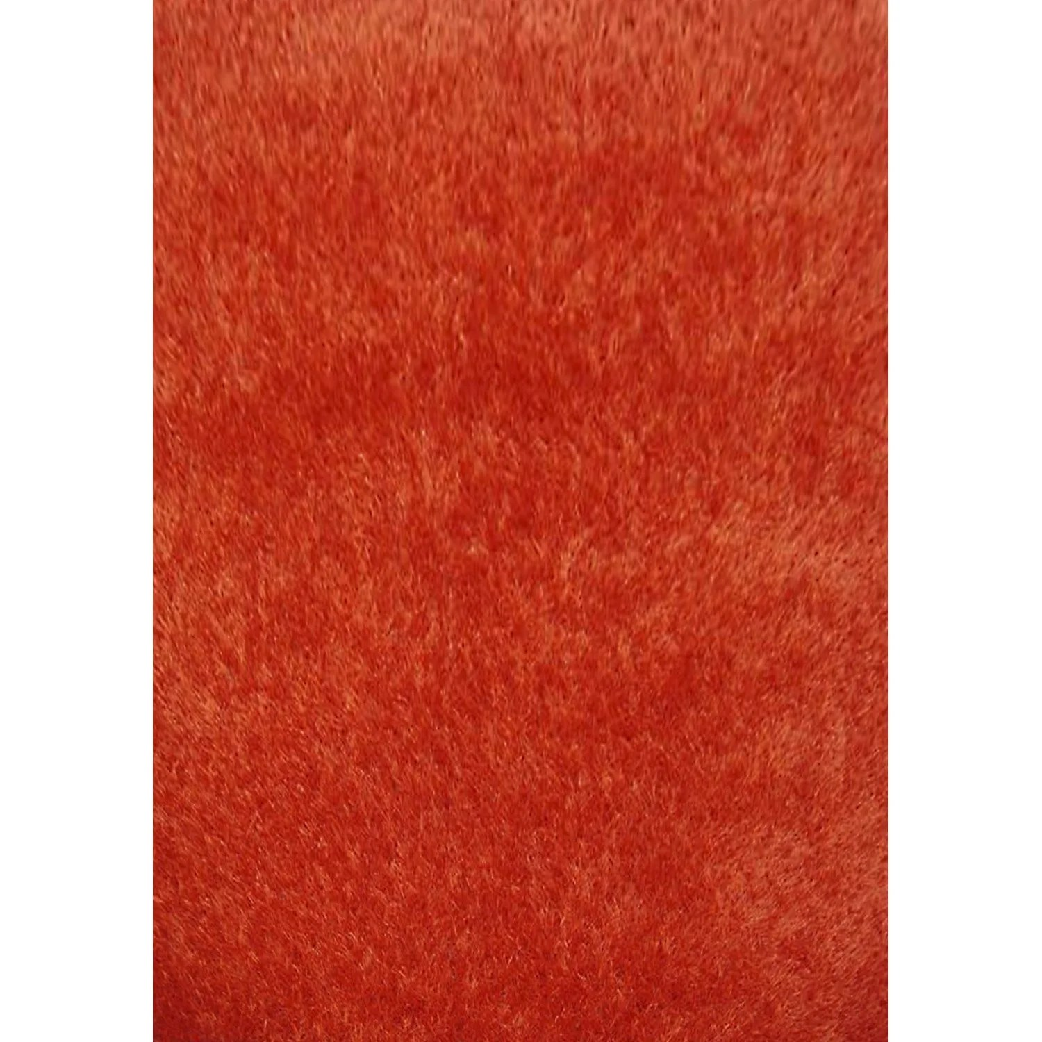 Tapis Shaggy Orange Tapis Orange Rectangulaire L 120 X L 170 Cm Lilou