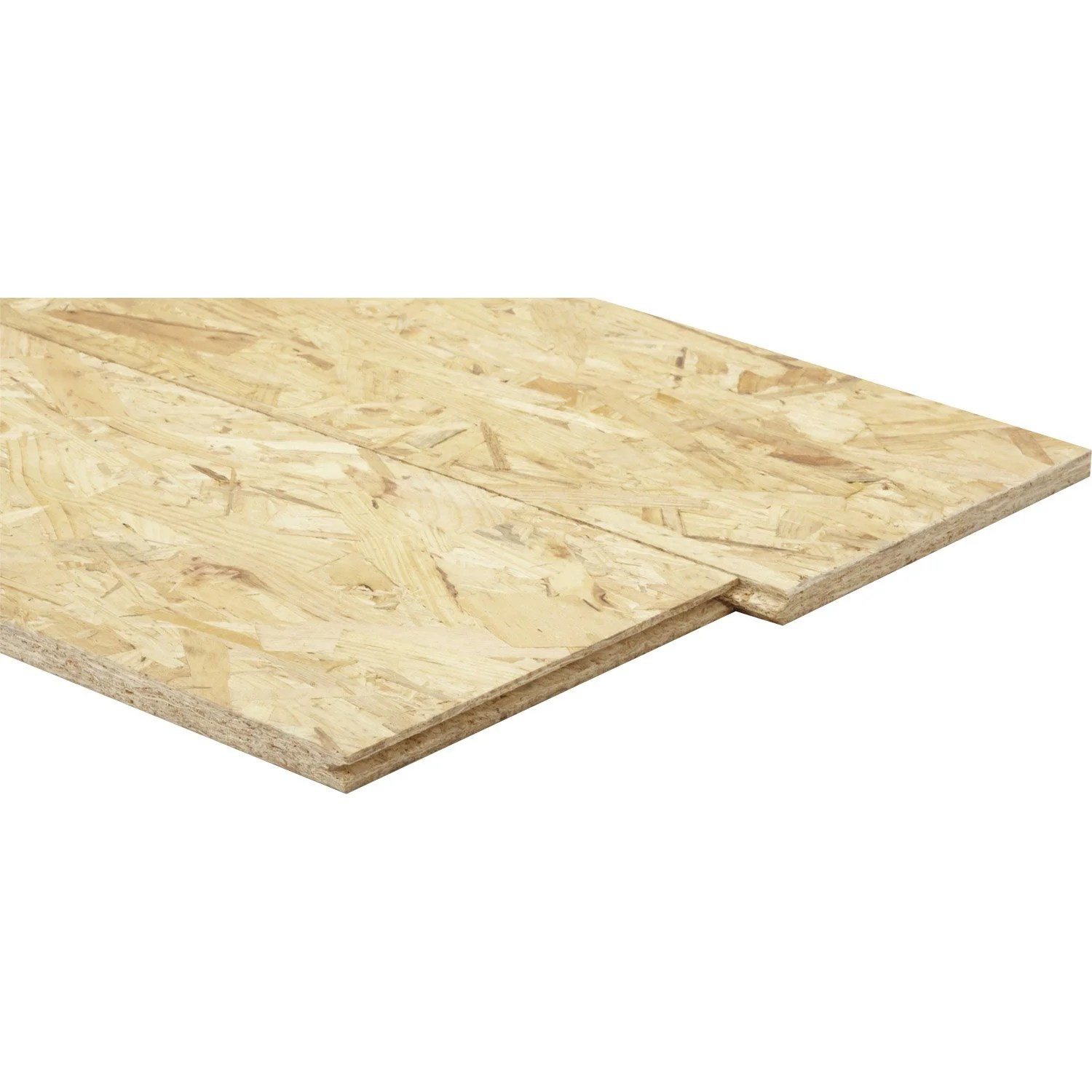 Weldom Lambris Pvc Dalle Osb 1 3 Plis épicéa Naturel Ep 15 Mm X L 205 X L 67 50 Cm
