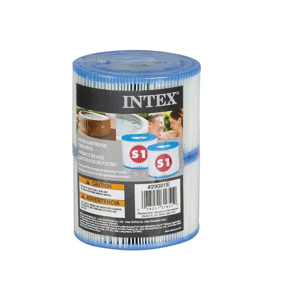 Jacuzzi Intex Leroy Merlin Cartouche De Filtration Pour Spa Pure Spa Intex