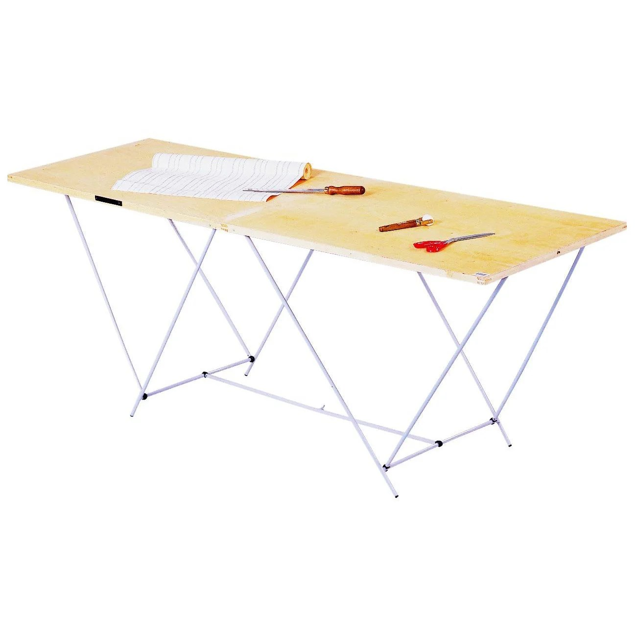Table à Tapisser Brico Depot Table à Tapisser Pliante Ocai 60 Cm X 2 M
