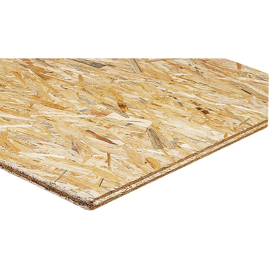 Osb Plaat 9mm Gamma Dalle De Plancher Osb 3 3 Plis épicéa Naturel Ep 18 Mm X L 250 X L 67 5 Cm