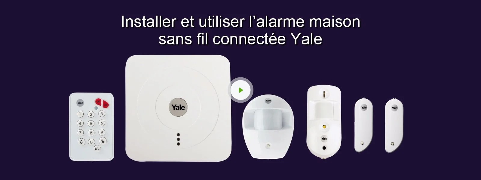 Alarme Tike Securite Forum Alarme Maison Sans Fil Connectée Pack Dissuasion Sr 3200i Yale