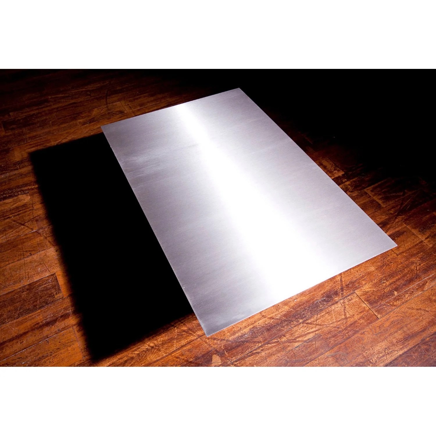 Cache Plaque De Cuisson Leroy Merlin Plaque De Protection Sol Inox Equation L 100 Cm X H 2 Cm
