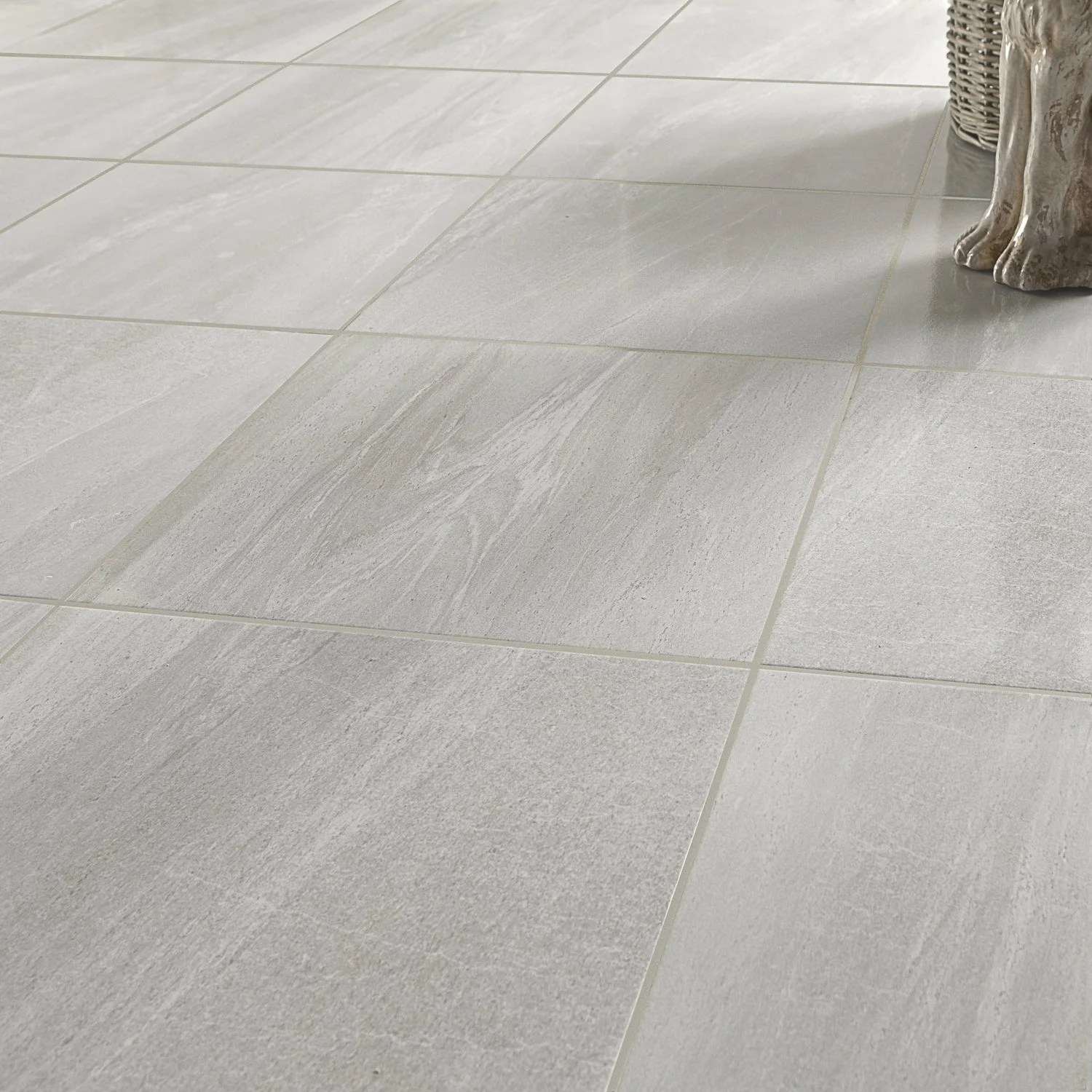 Joint Silicone Lino Un Carrelage Carré Gris Clair Leroy Merlin