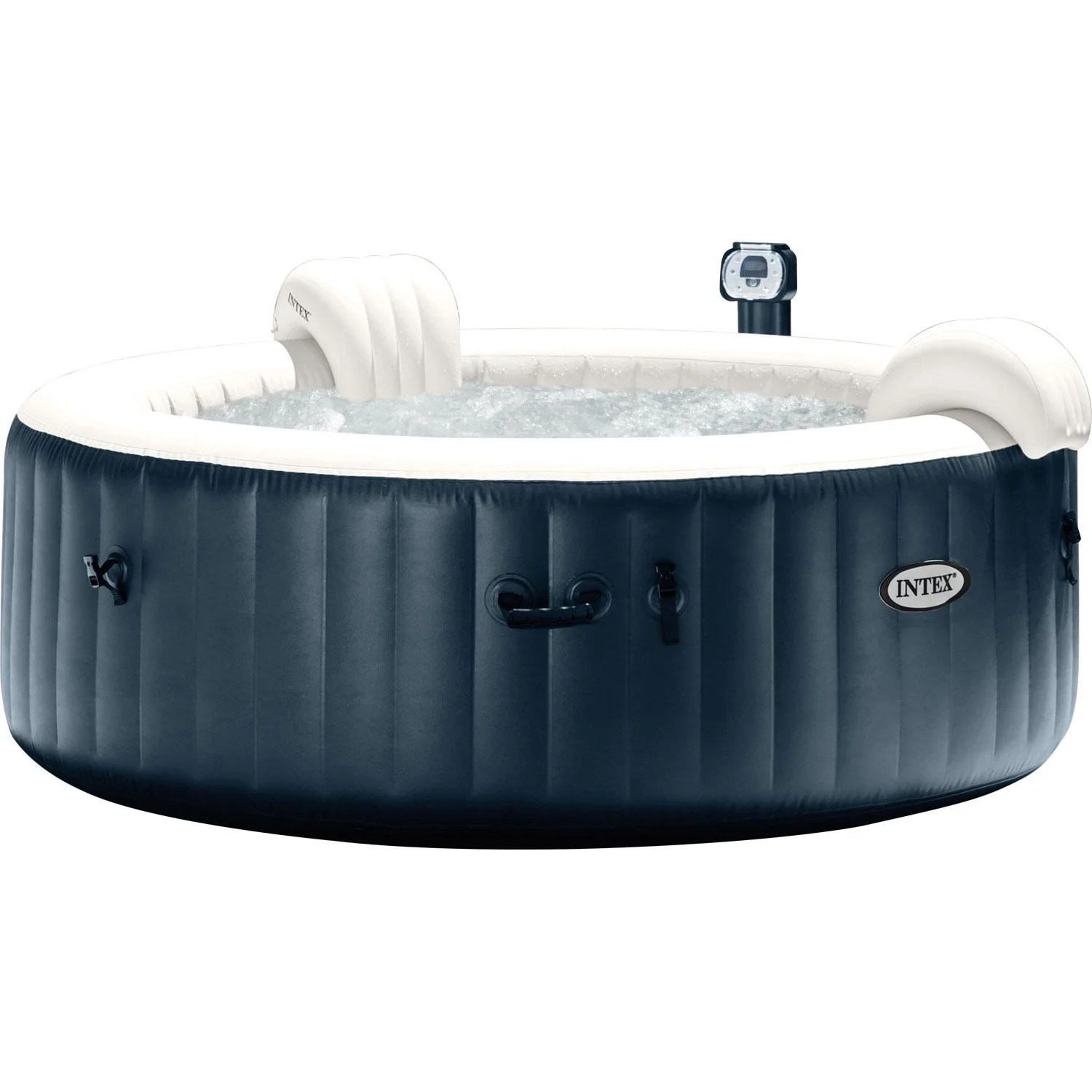 Prix Jacuzzi Exterieur Gonflable Spa Gonflable Intex Pure Spa Bulles Led Rond 4 Places Assises