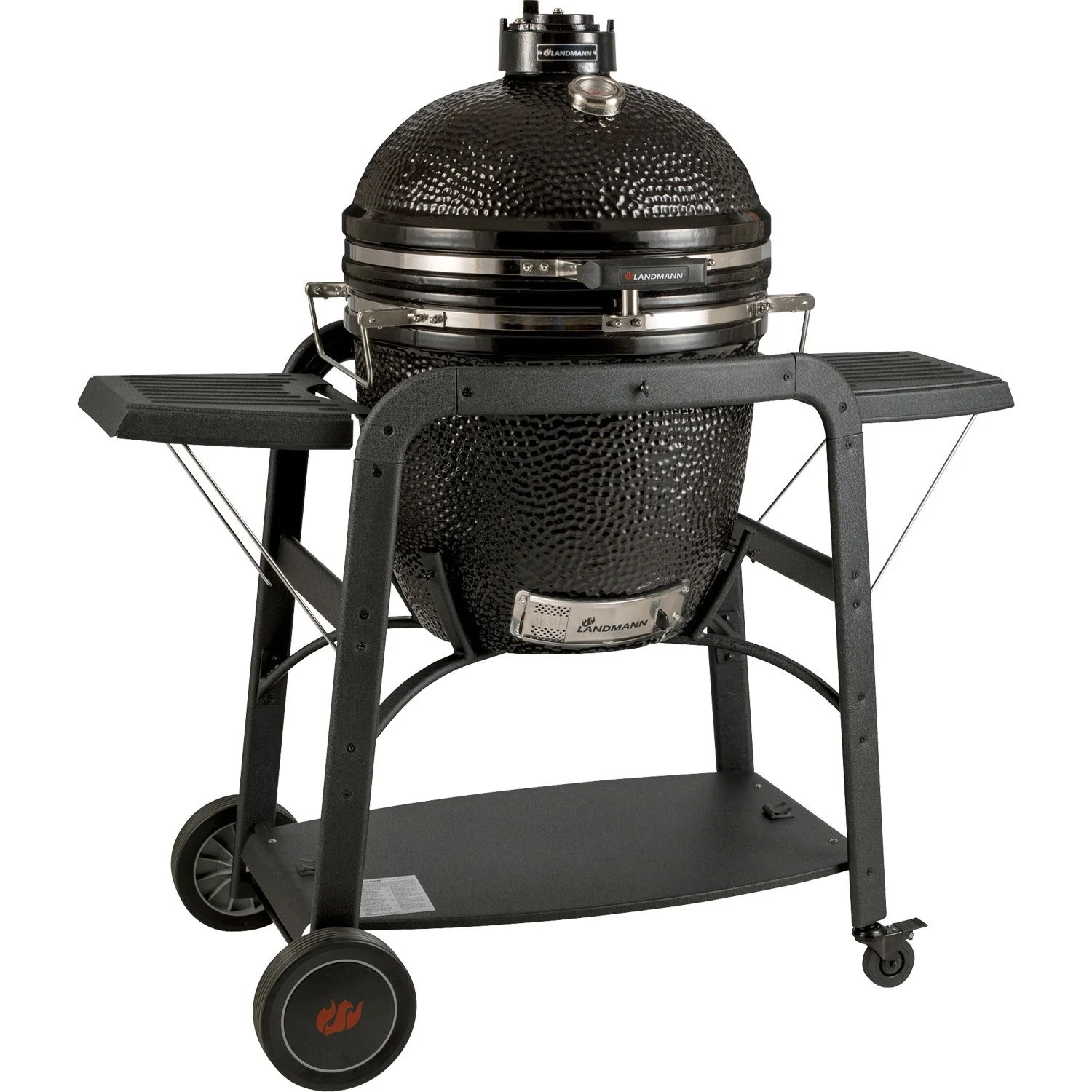 Point P Barbecue Barbecue Au Charbon De Bois Landmann Big Landmann Noir