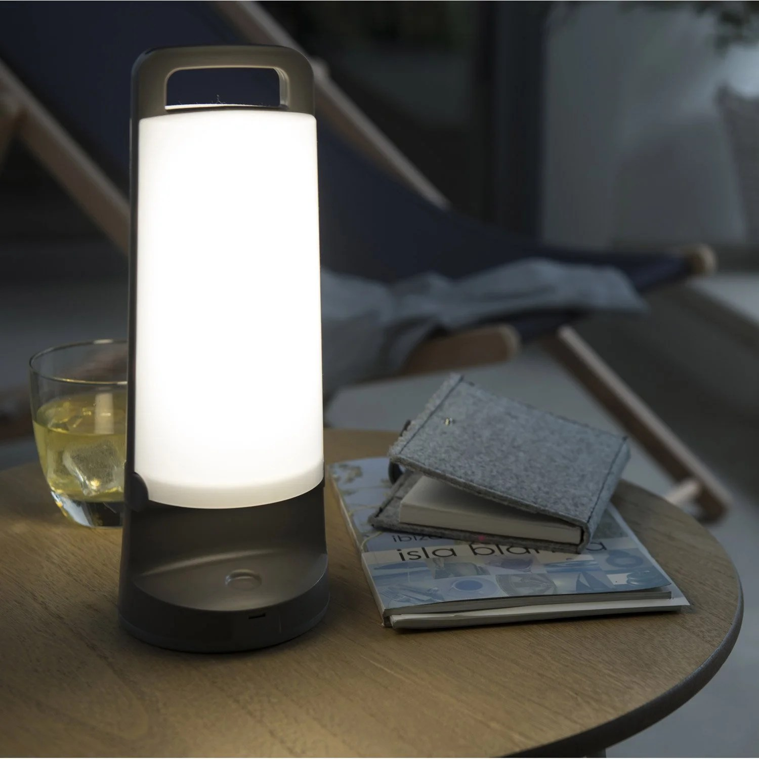 Lampe Terrasse Solaire Lampe Solaire Yuma 180 Lm Gris Inspire