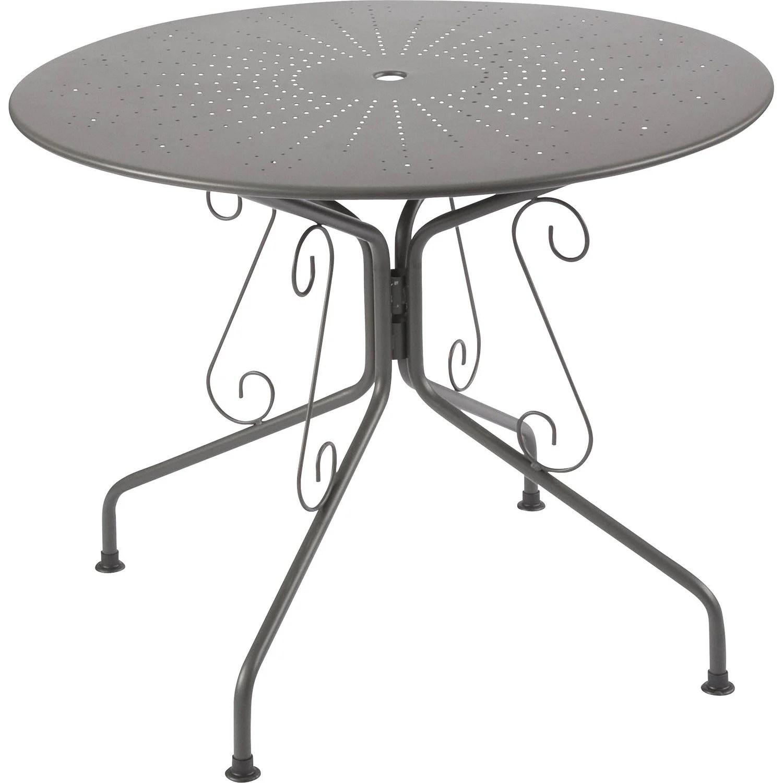 Table Terrasse Fer