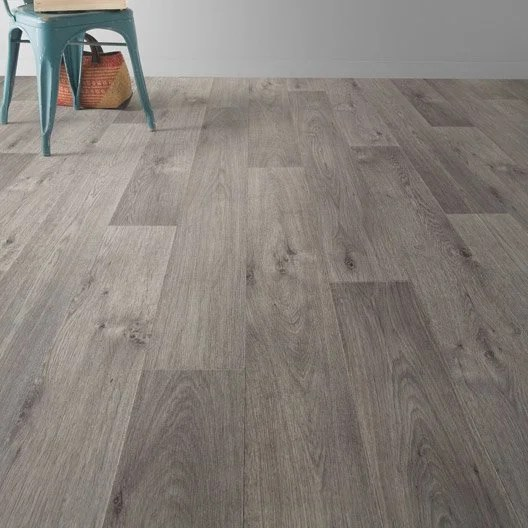 Sol Pvc Timber Grey Artens Textile L 3 M Leroy Merlin