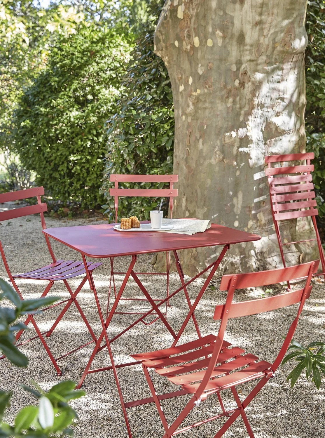 Table De Jardin Rouge Salon De Jardin Rouge Leroy Merlin