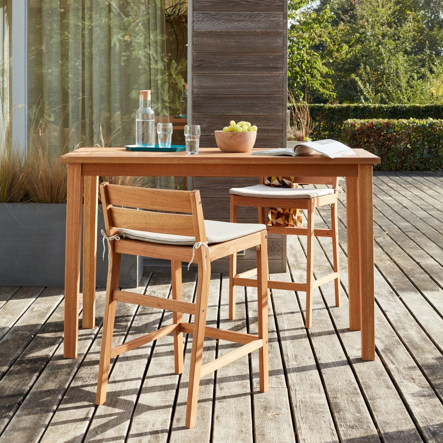 Bar De Terrasse Exterieur La Nouvelle Collection De Salon De Jardin 2019 Leroy Merlin