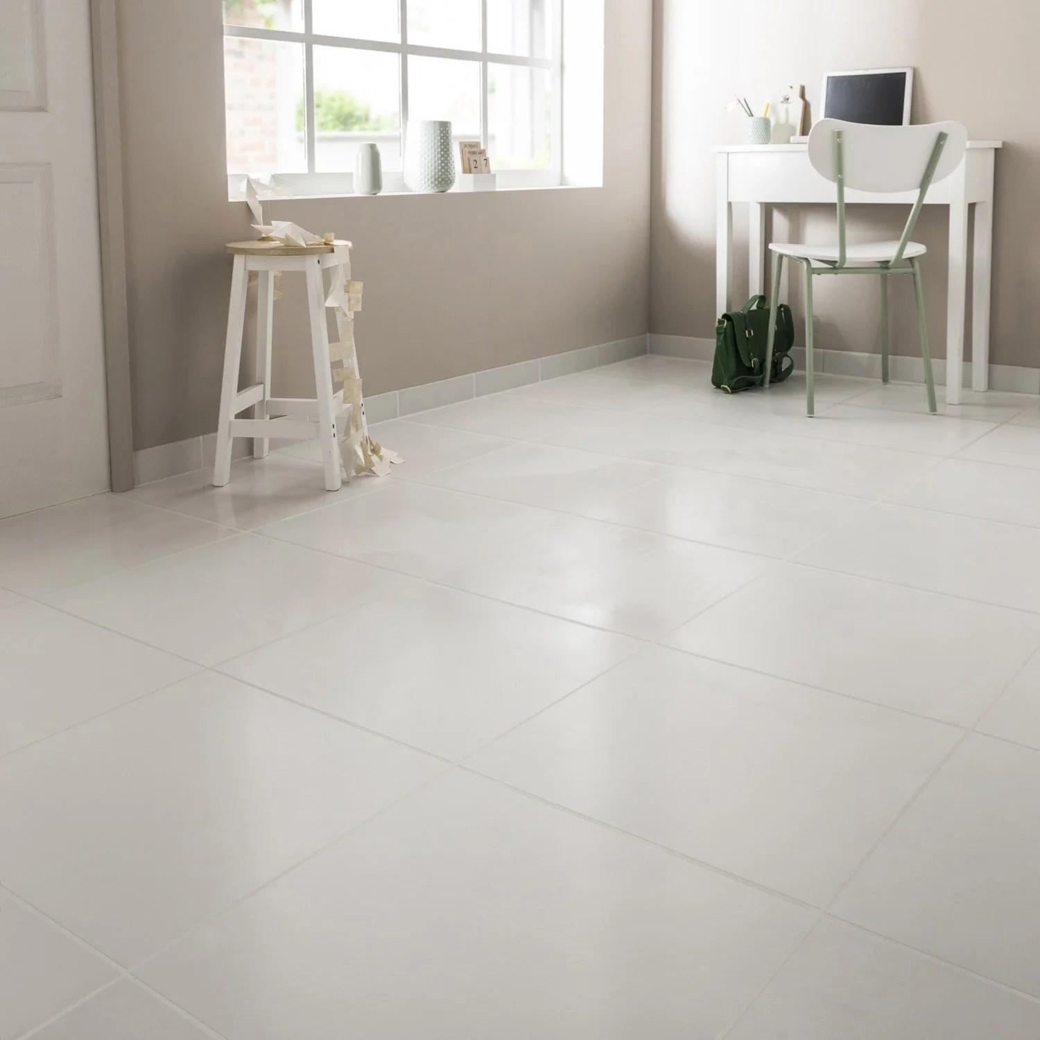 Carrelage Brillant Sol Carrelage Blanc Brillant 45x45