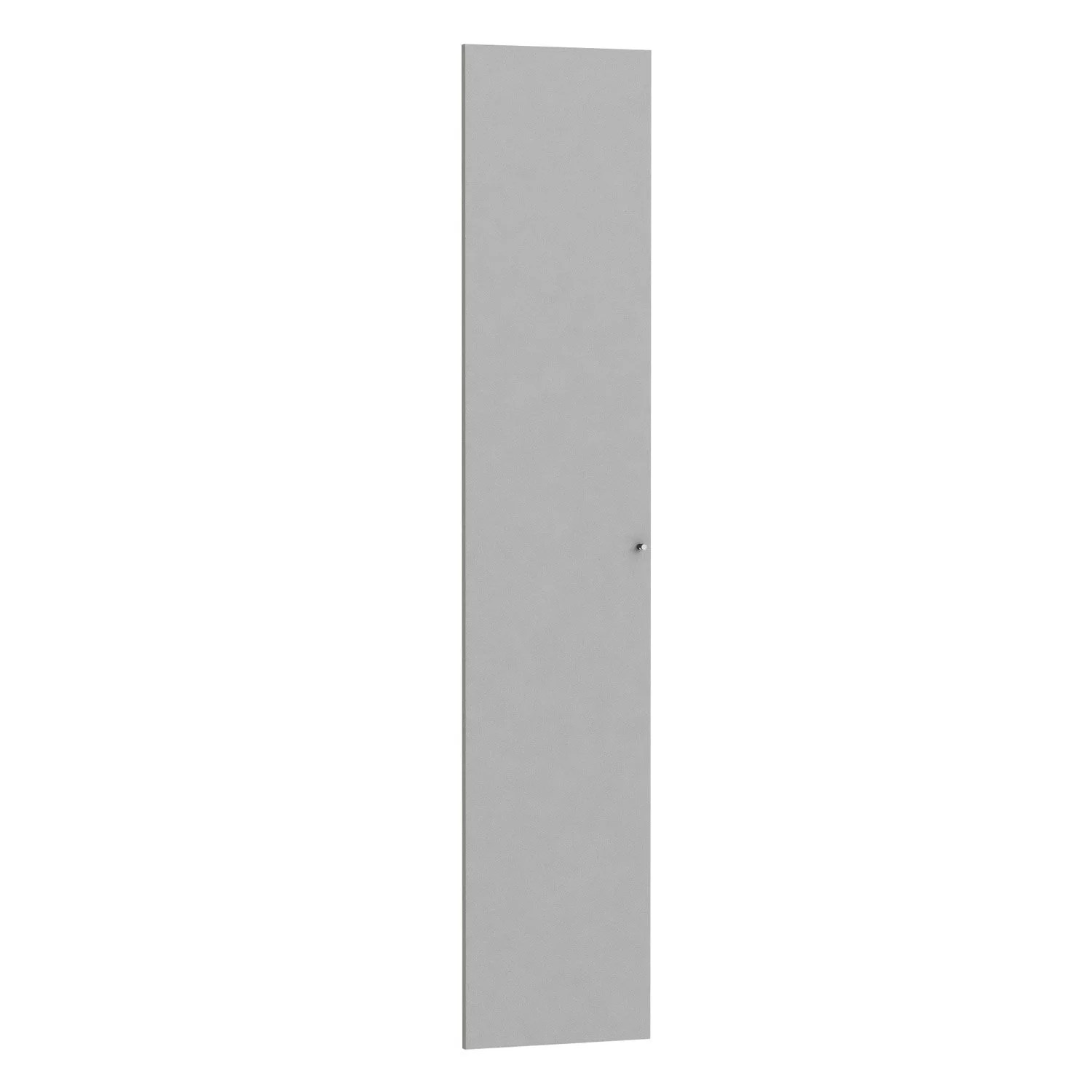 Porte De Placard 60 Cm De Large Porte Battante Spaceo Home 200 X 40 X 1 6 Cm Anthracite