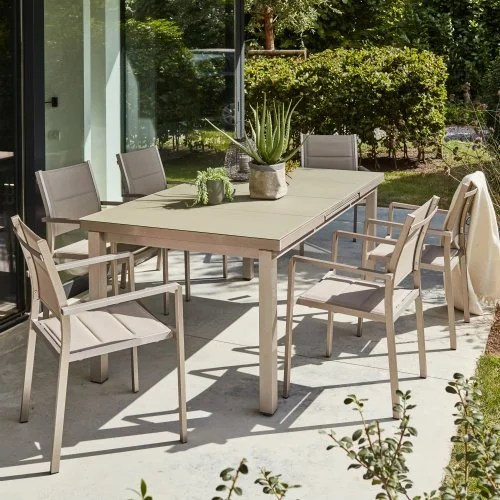Table Salon Chaise Salon De Jardin, Table Et Chaise - Mobilier De Jardin