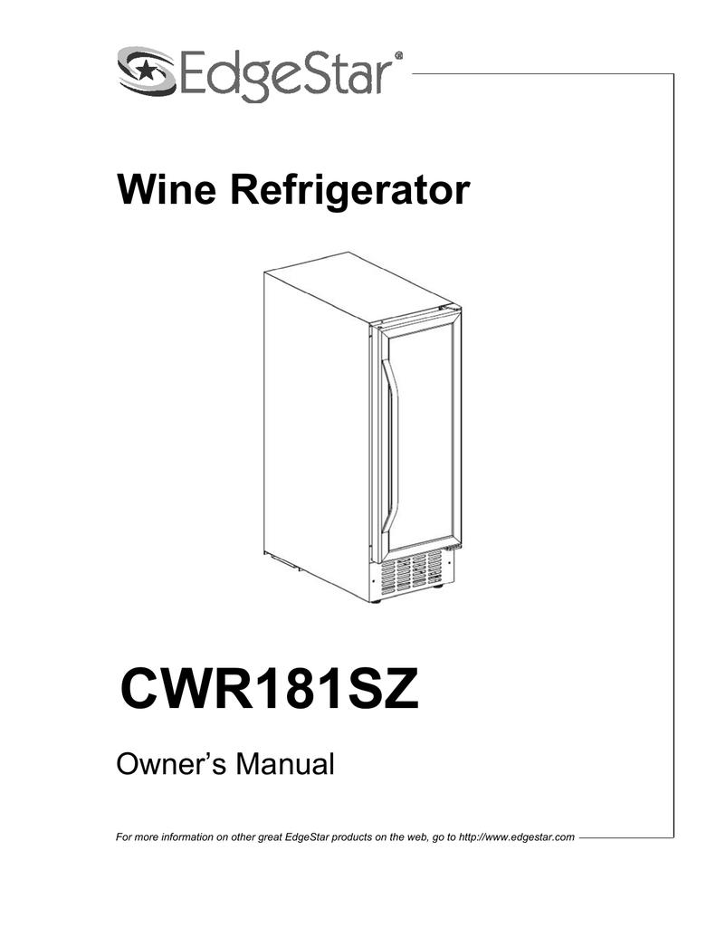 edgestar wiring diagram