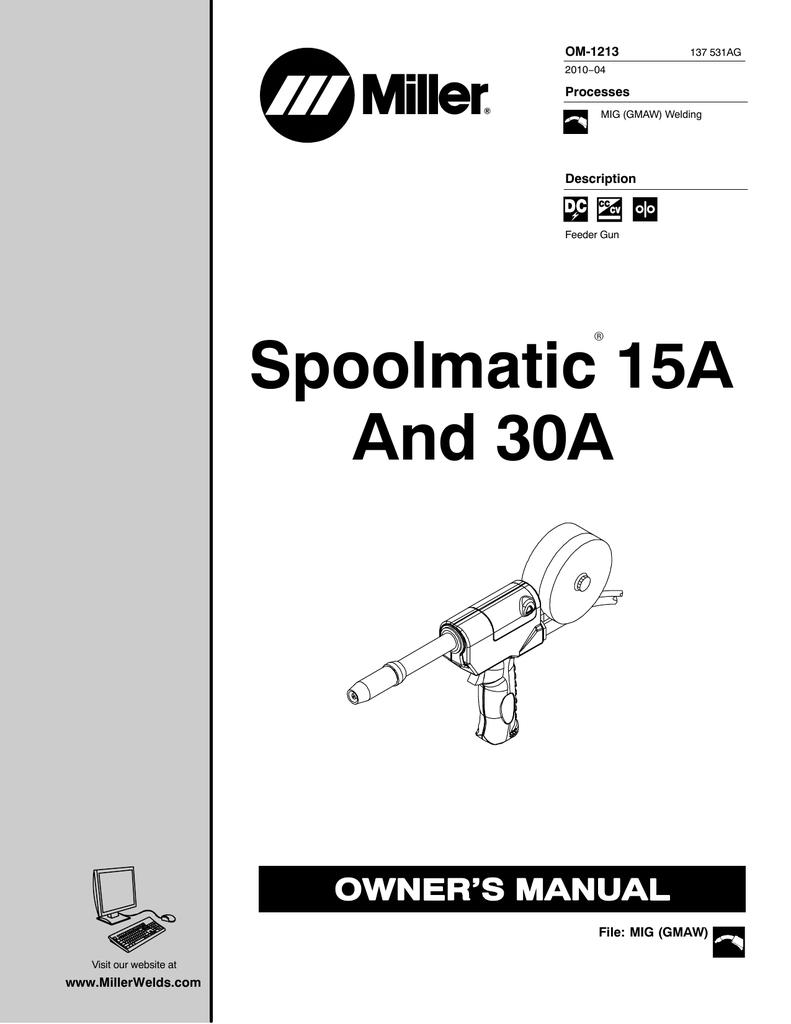 miller spoolmate 30a wiring diagram