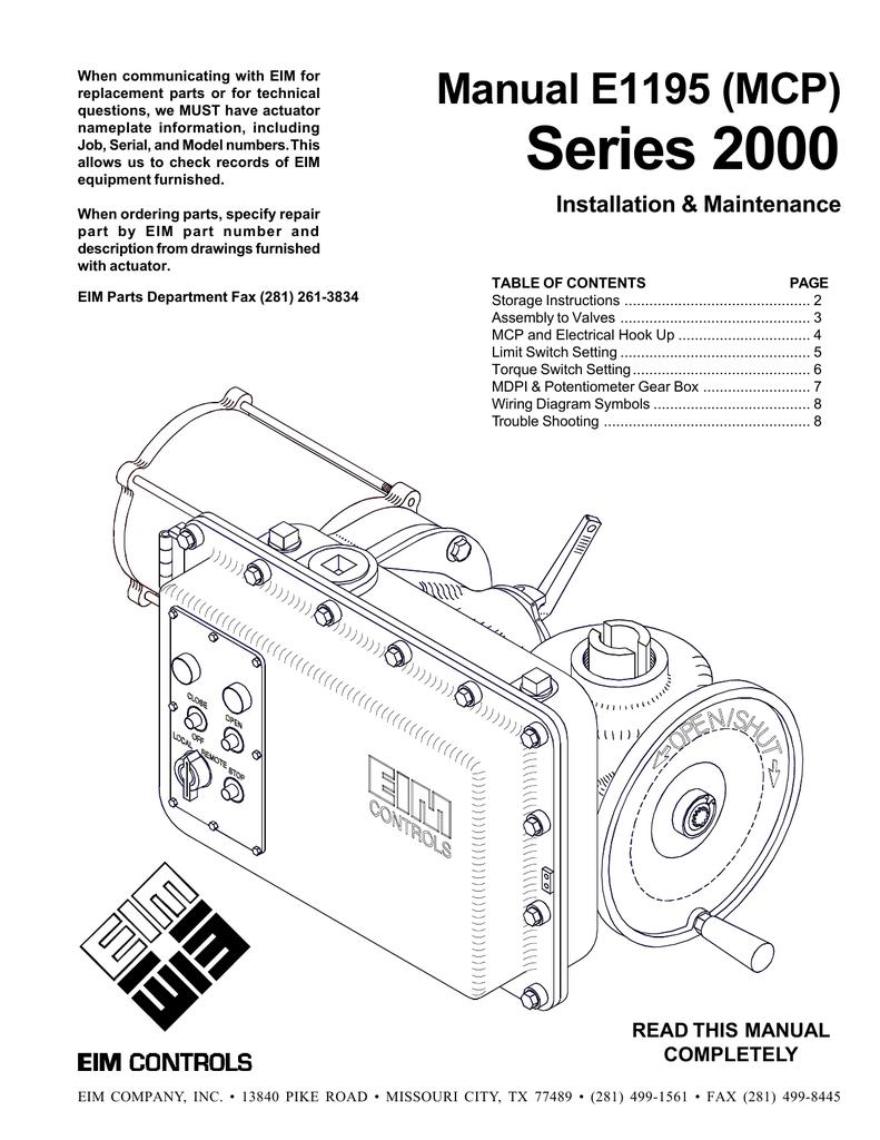 eim valve wiring diagram
