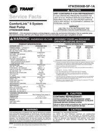 Trane Xr90 Wiring Diagram - Circuit Diagram Maker