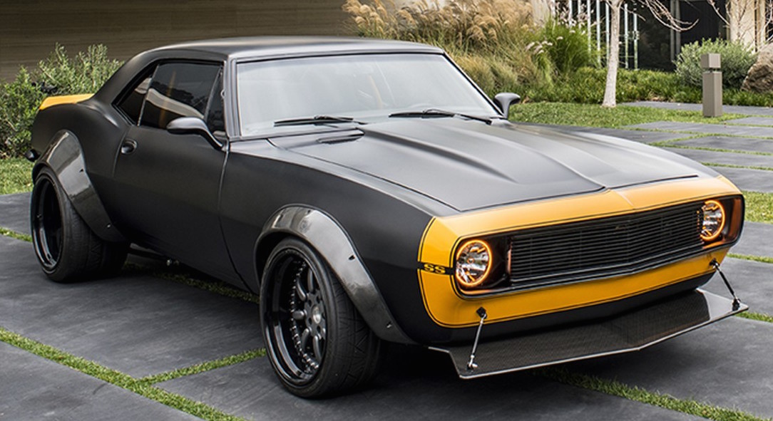 Dodge Muscle Car Wallpapers Bumblebee Chevrolet Camaro Ss Up For Auction