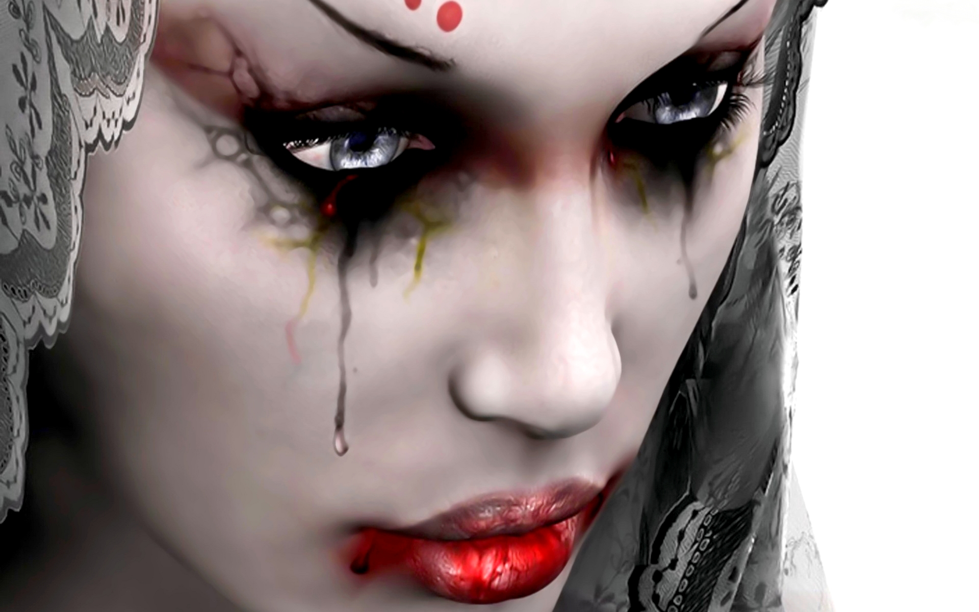Beautiful Crying Girl Wallpapers Gothic Wallpapers Best Wallpapers