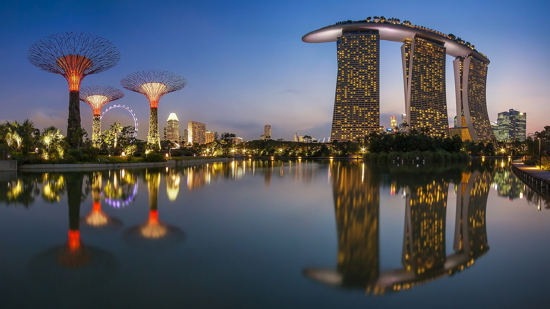 Marina Bay Sands Singapore Singapore Wallpapers Best Wallpapers