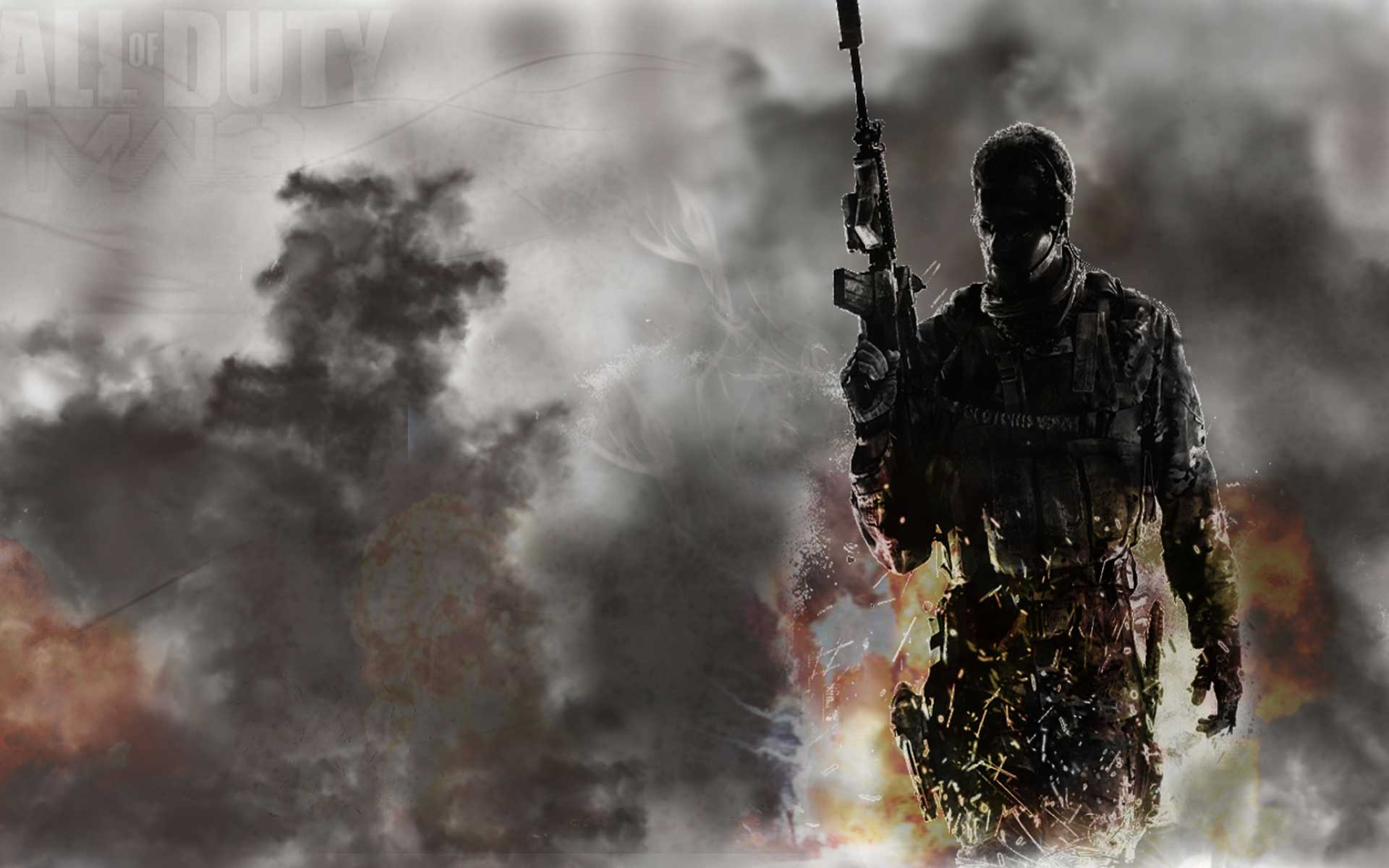 Mw3 3d Wallpapers Call Of Duty Wallpapers Best Wallpapers