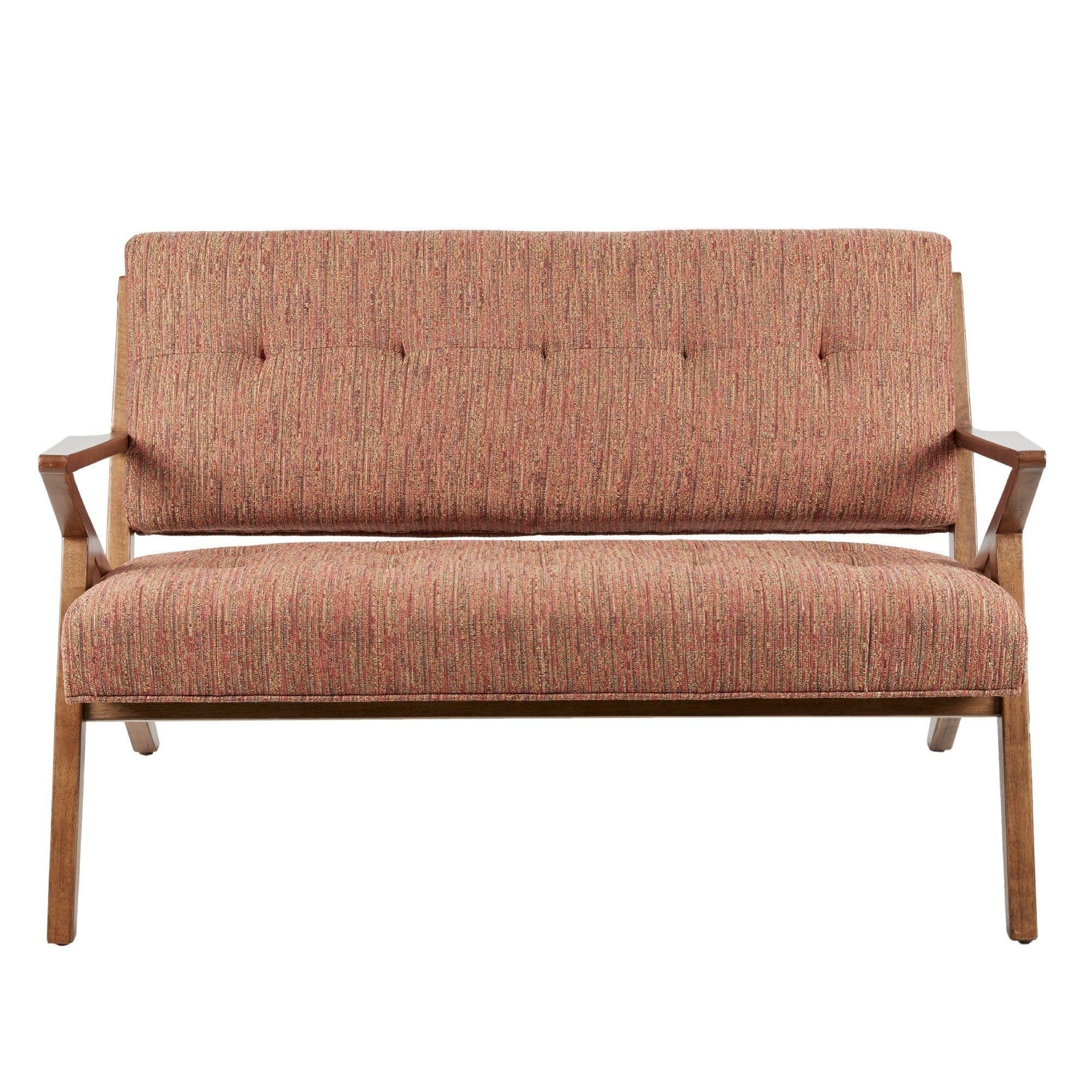 Made Sofa Reviews Naglestad Orange Loveseat