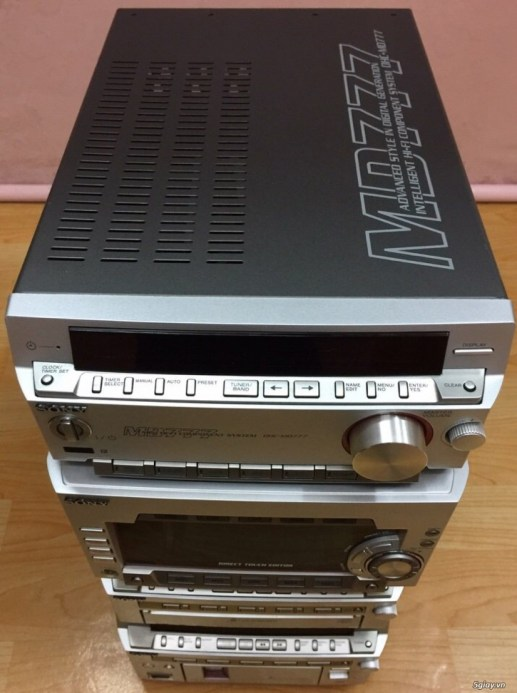 Dàn SONY MD777 made in JaPan 5CD 5MD - 2