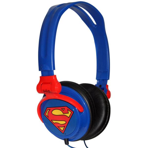 iHip DC Comics Superman Folding Headphones Electronics Zavvi