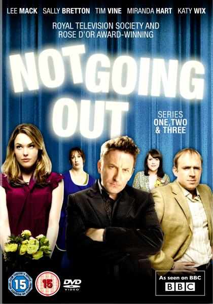 Disney Sally Lee Mack: Not Going Out - Series 1-3 Dvd | Zavvi