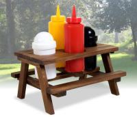 Picnic Table Condiment Set   Zavvi.nl