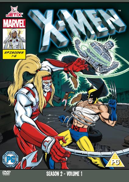 Free Animated Fall Wallpaper X Men Season 2 Volume 1 Dvd Zavvi