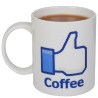 Social Like Mug - Coffee | IWOOT