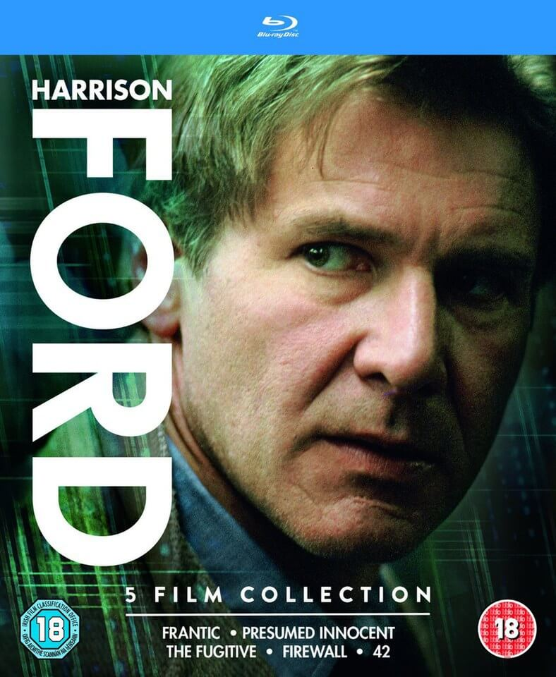 Harrison Ford Collection - Very Limited Release Blu-ray Zavvi US