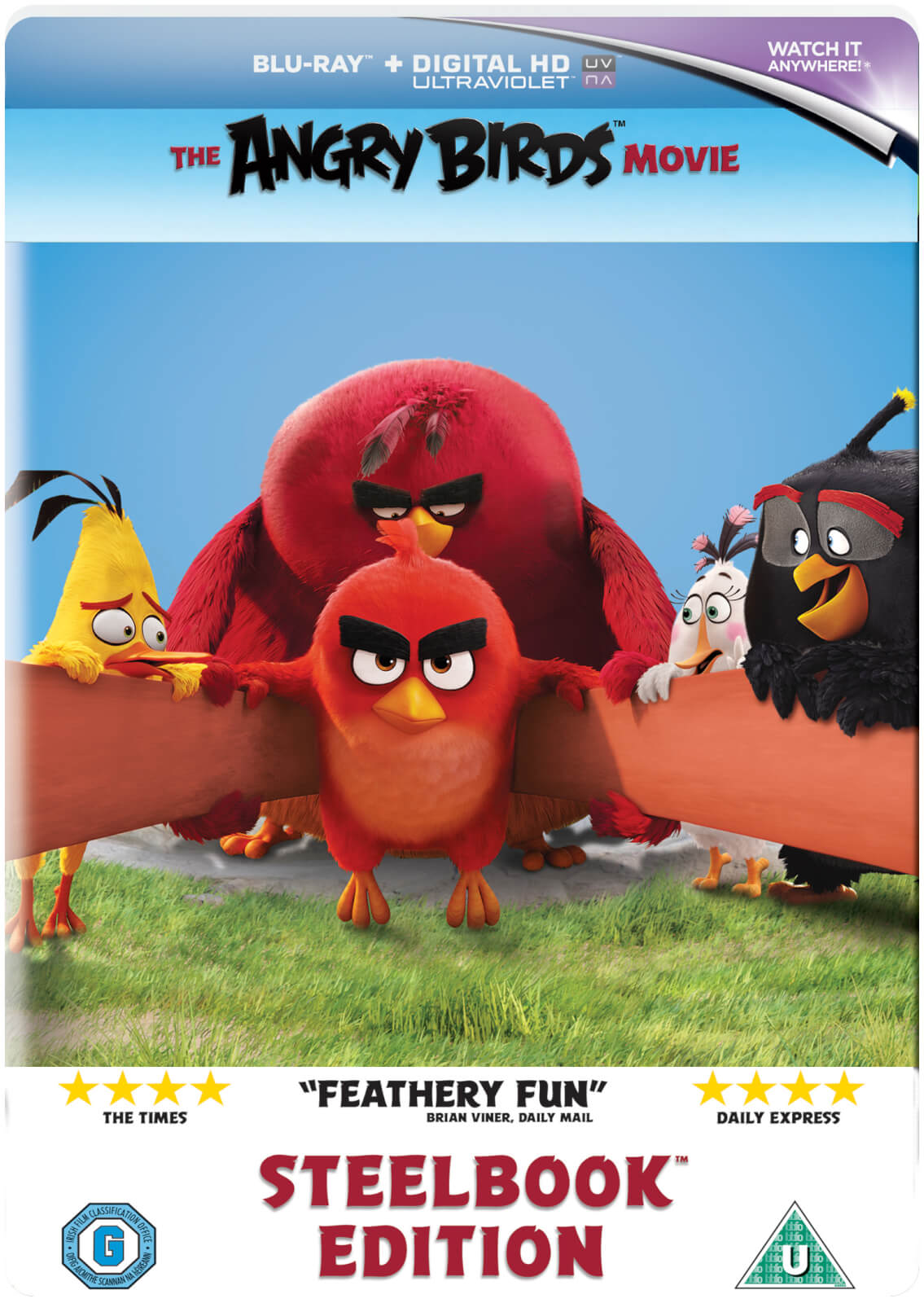 Angry Birds Bettwäsche The Angry Birds Movie Limited Edition Steelbook