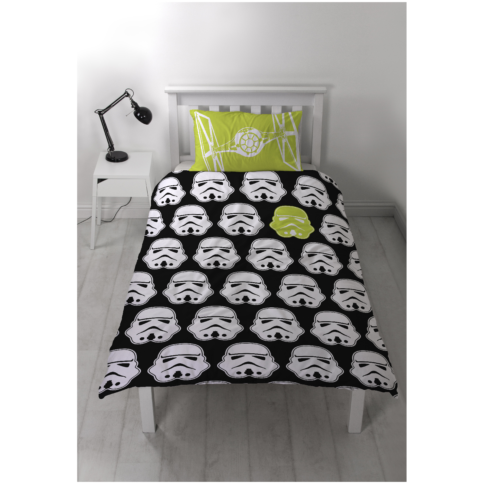 Stormtrooper Bed Sheets Star Wars Classic Stormtrooper Panel Duvet Set Homeware