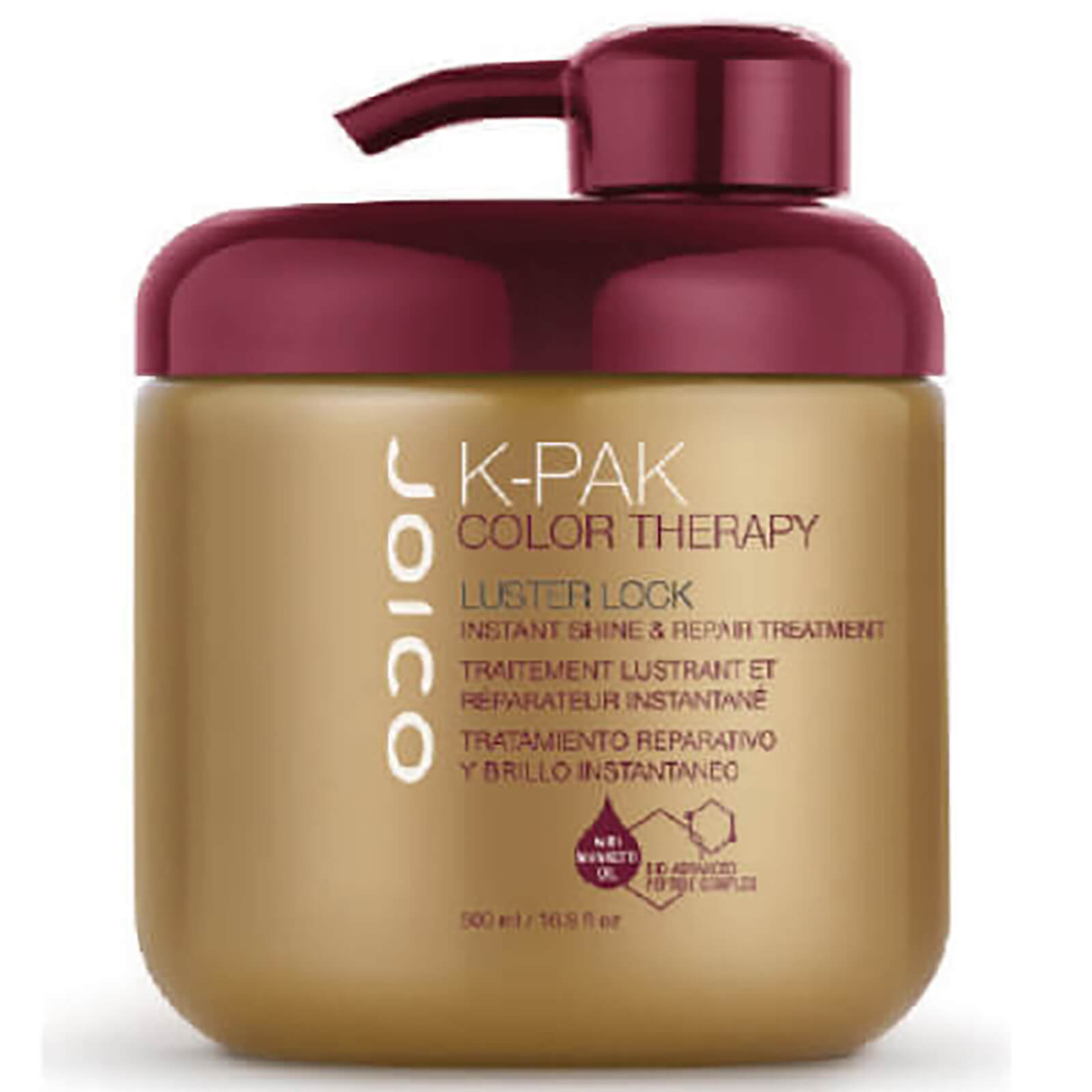 Lüster Joico K Pak Color Therapy Luster Lock Instant Shine And Repair Treatment 500ml Worth 62 32