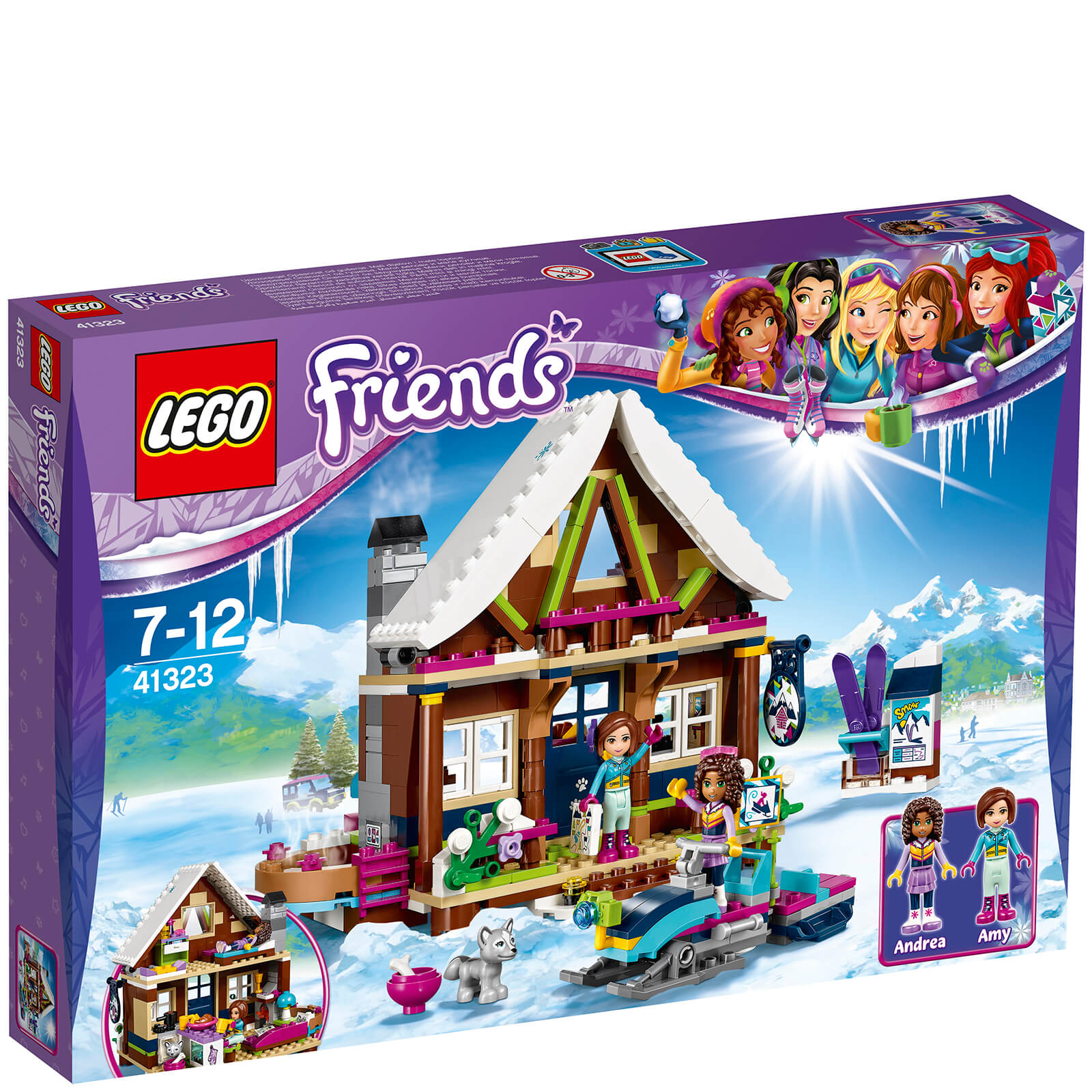 Lego Friends Badezimmer Lego Friends Chalet Im Wintersportort 41323