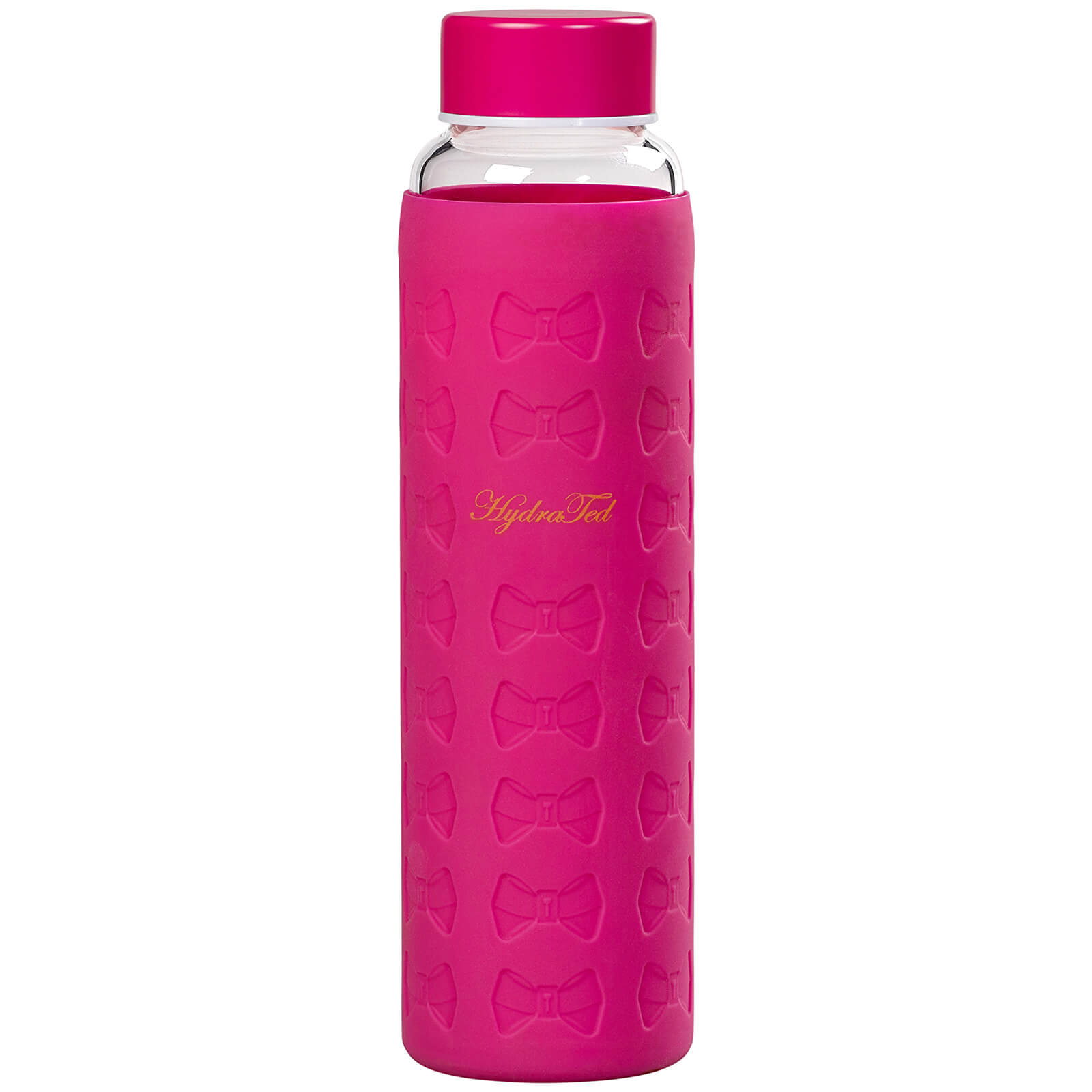 Water Bottle Australia Ted Baker Hot Pink Glass Water Bottle With Silicone Sleeve