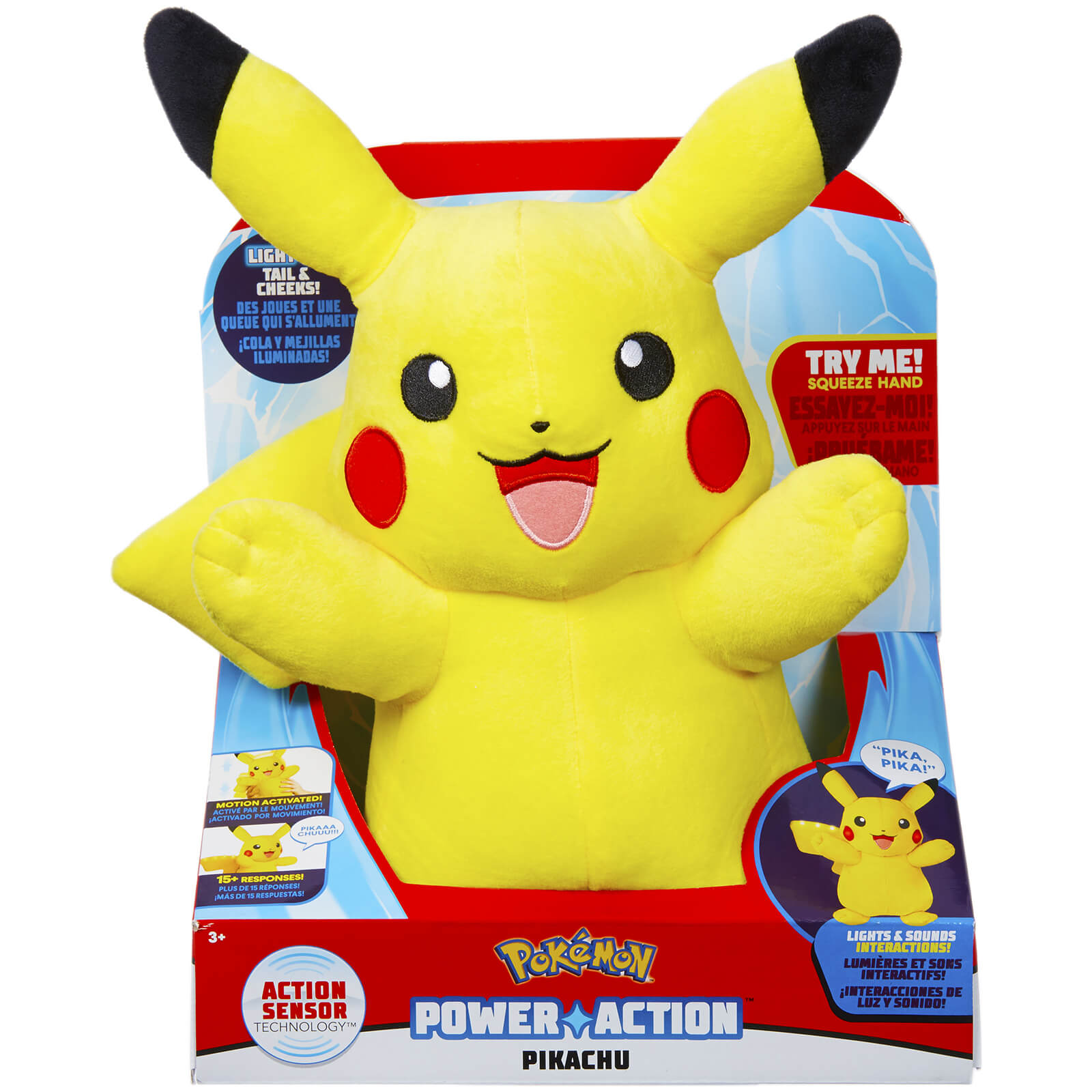 Bettwäsche Pokemon Pokemon Power Action Pikachu