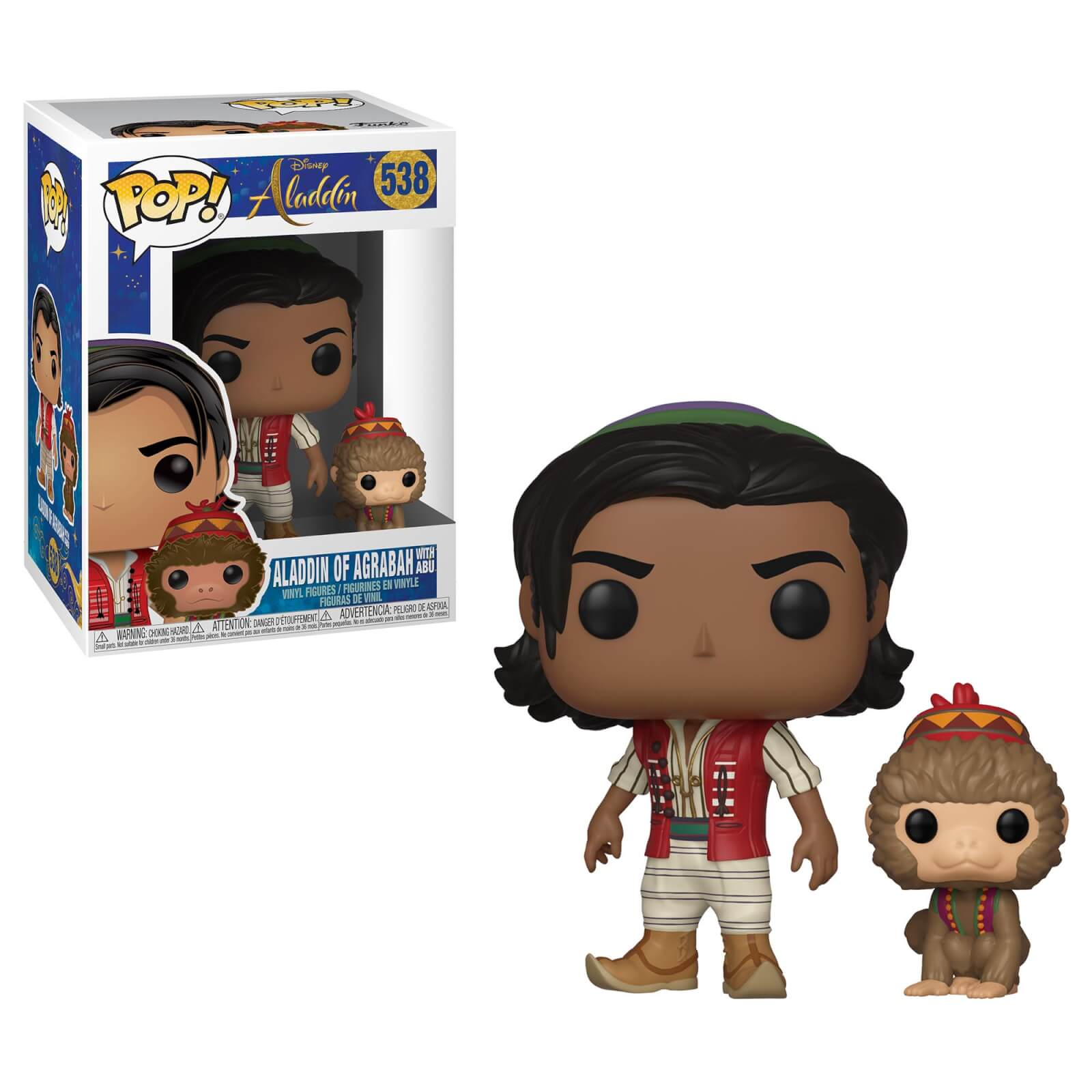 Aladdin Abu Png Disney Aladdin Live Action Aladdin With Abu Pop Vinyl Figure