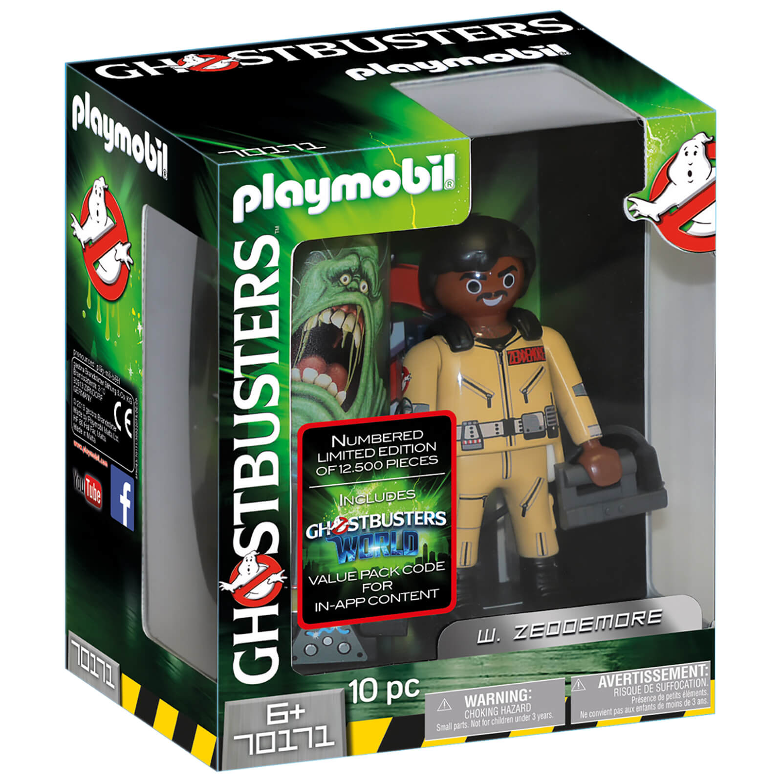 Ghostbusters Bettwäsche Playmobil Ghostbusters Collector S Edition W Zeddemore Limited And Individually Numbered 70171