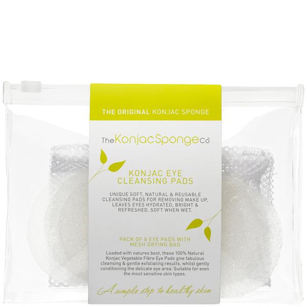 feelunique the Konjac Sponge Company Eye Cleansing Pads Wishlist - packaging slips
