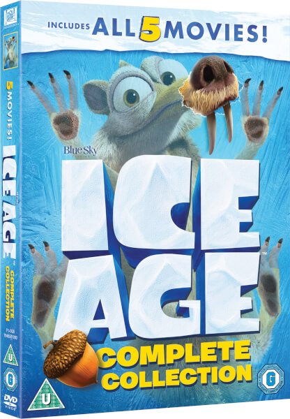 Ice Age 1 5 Boxset Dvd Zavvicom