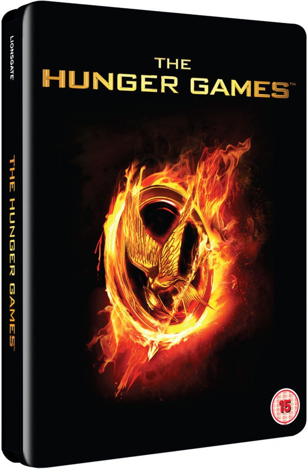 The Hunger Games - Limited Edition Steelbook (UK EDITION) Blu-ray