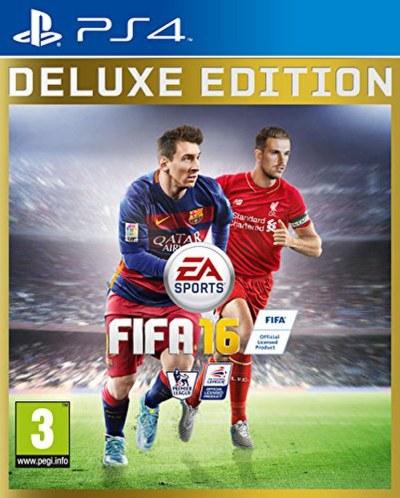 FIFA 16 - Deluxe Edition PS4 | Zavvi.com