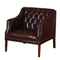 Quilted Leather Chair   SOWIA