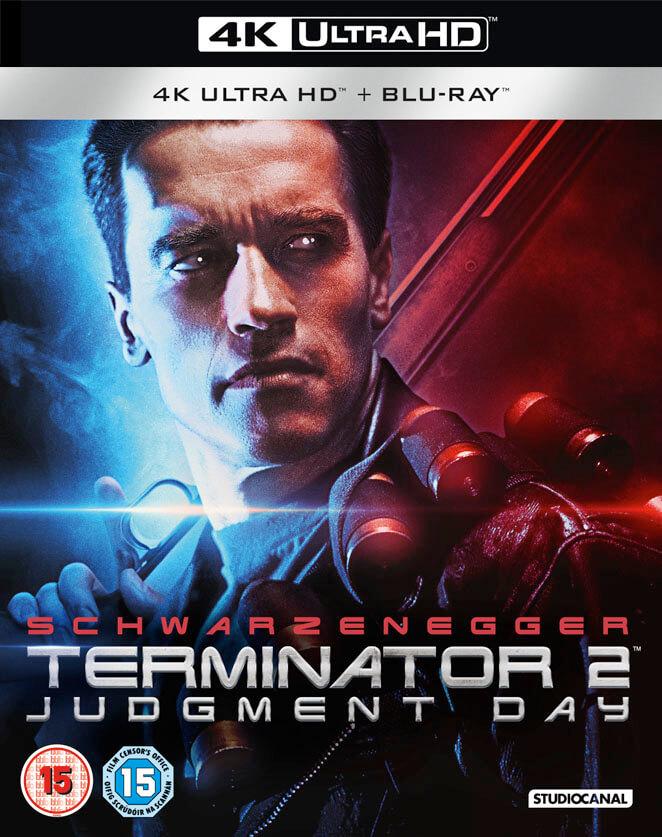 3d Vinyl Records Wallpaper Terminator 2 Remastered 4k Ultra Hd Blu Ray Zavvi