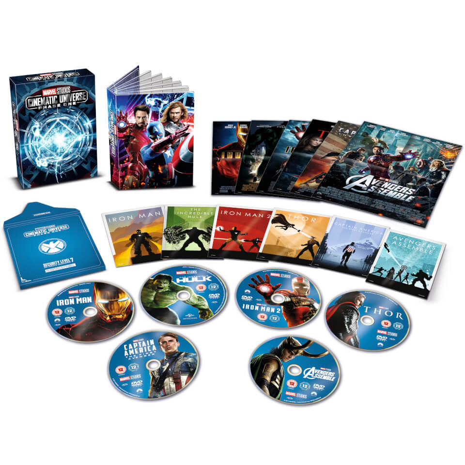 Schlafzimmer Set Möbel Boss Marvel Studios Collector's Edition Box Set - Phase 1 Dvd