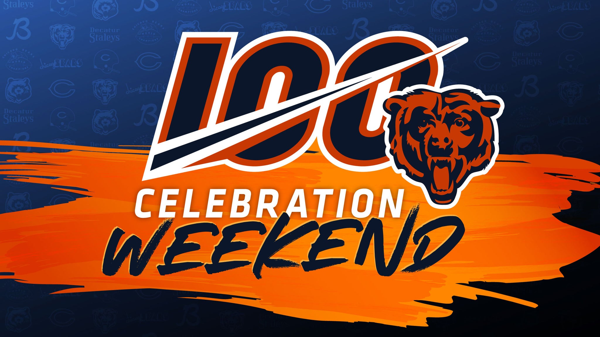 Week End Tickets Bears 100 Celebration 3 Day Weekend Pass Rosemont Il